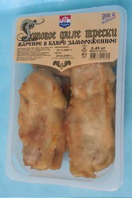 Филе готовое из трески в кляре